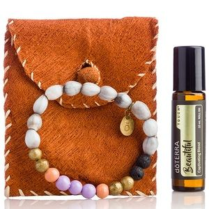 DoTERRA Holiday Uganda Bracelet & Oil